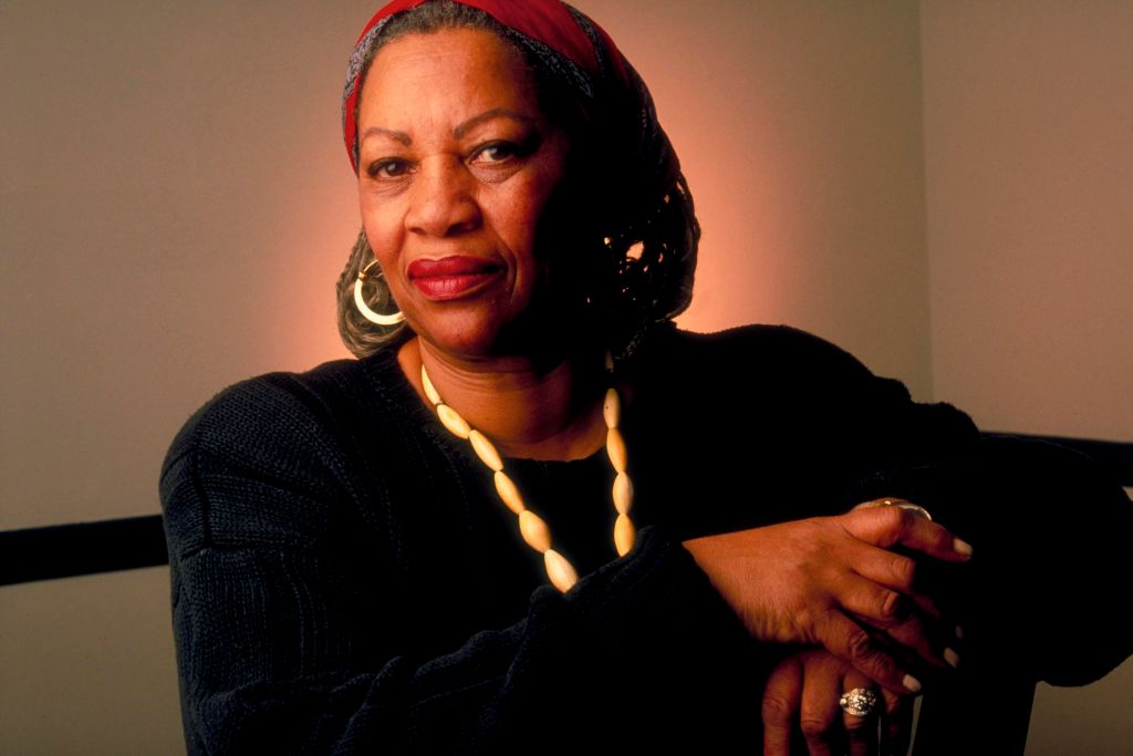 Author Toni Morrison at home. (Photo by James Keyser/The LIFE Images Collection via Getty Images/Getty Images)