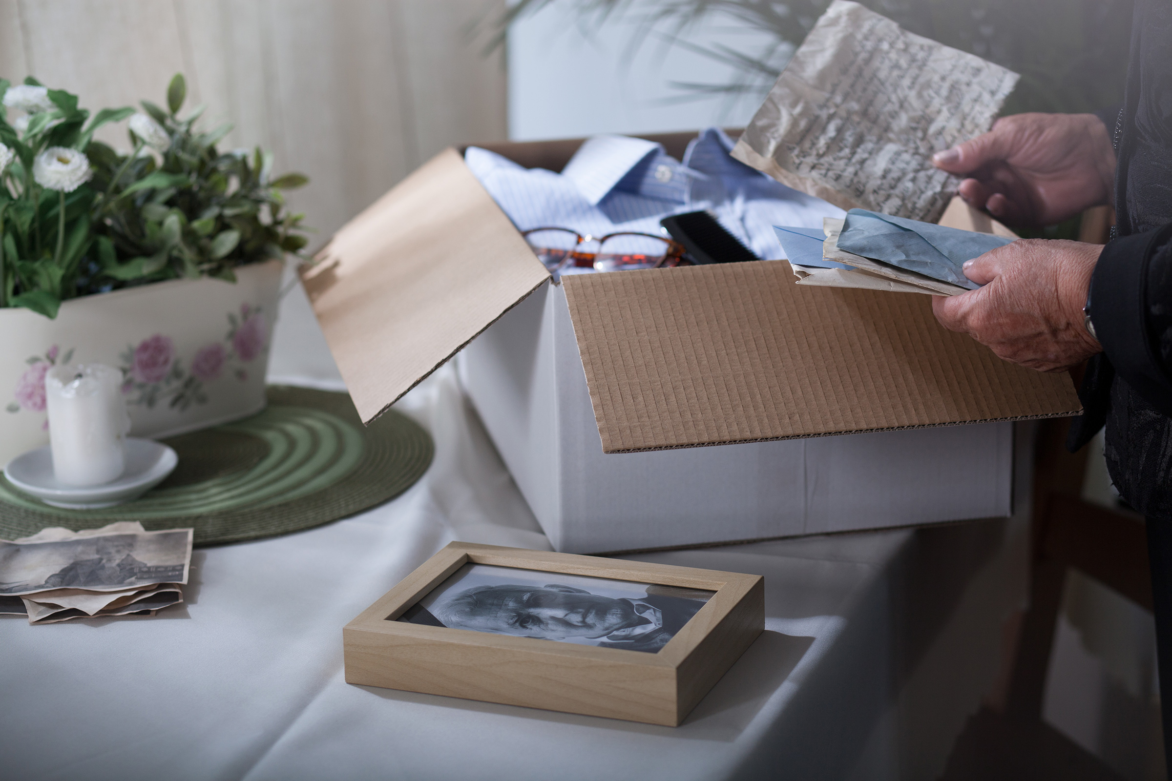 It may sound morbid, but creating a findable file, binder, cloud-based drive, or even shoebox where you store estate documents and meaningful personal effects will save your loved ones incalculable time, money, and suffering.