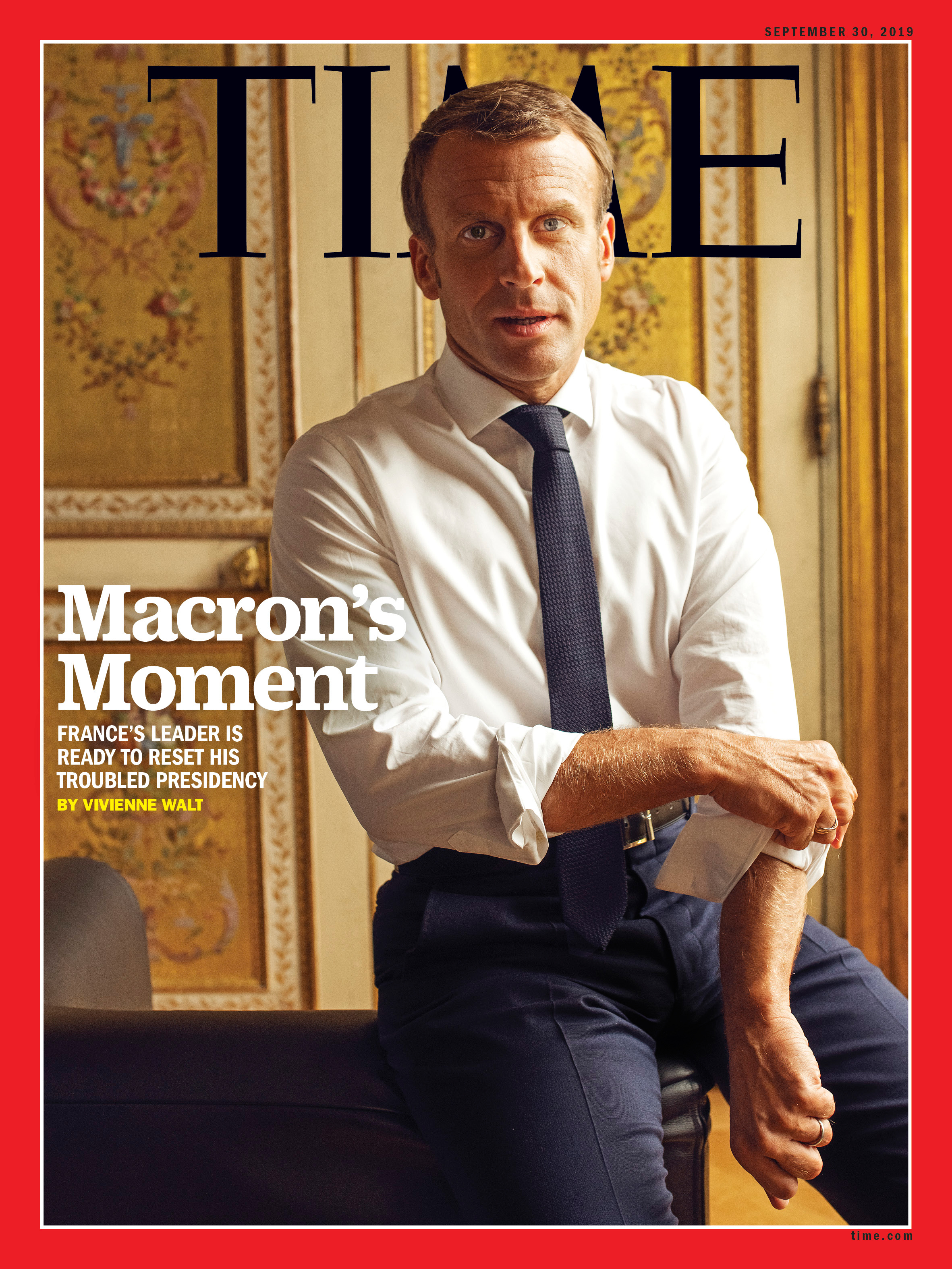 France S Emmanuel Macron Is Ready To Reset His Presidency Time