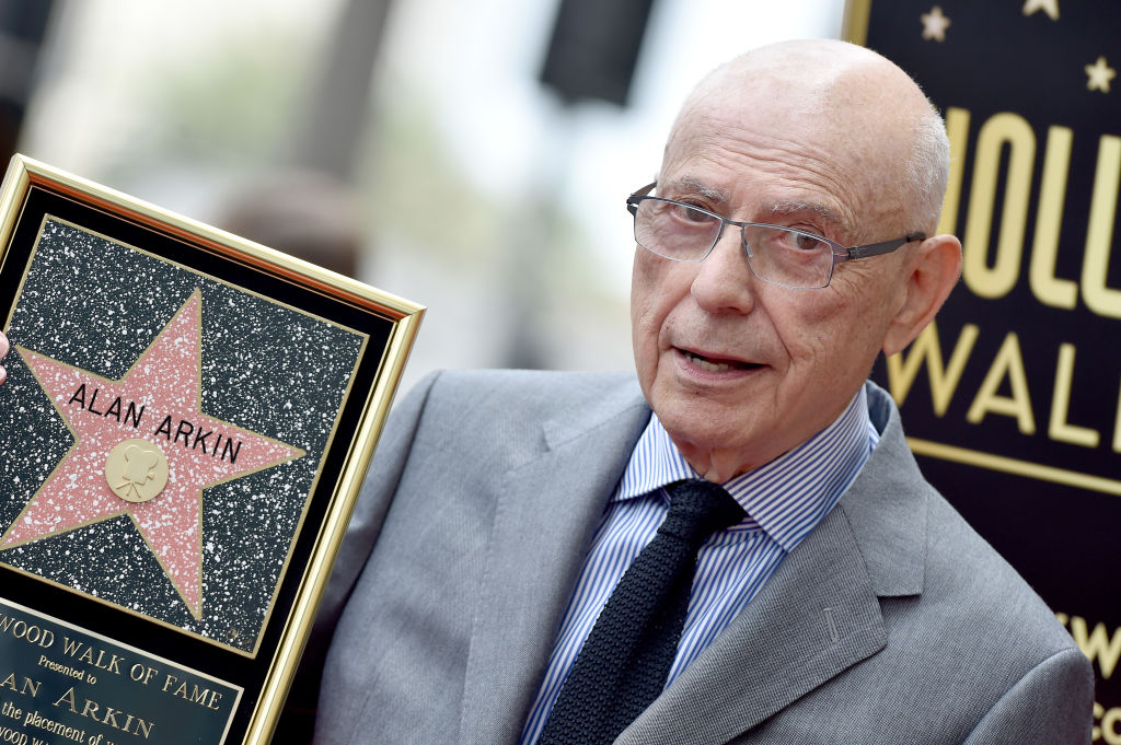 Alan Arkin is honored with a Star on the Hollywood Walk of Fame on June 07, 2019 in Hollywood, California.