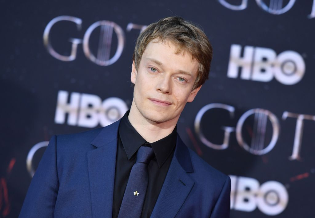 British actor Alfie Allen arrives for the  Game of Thrones  eighth and final season premiere at Radio City Music Hall on April 3, 2019 in New York city.