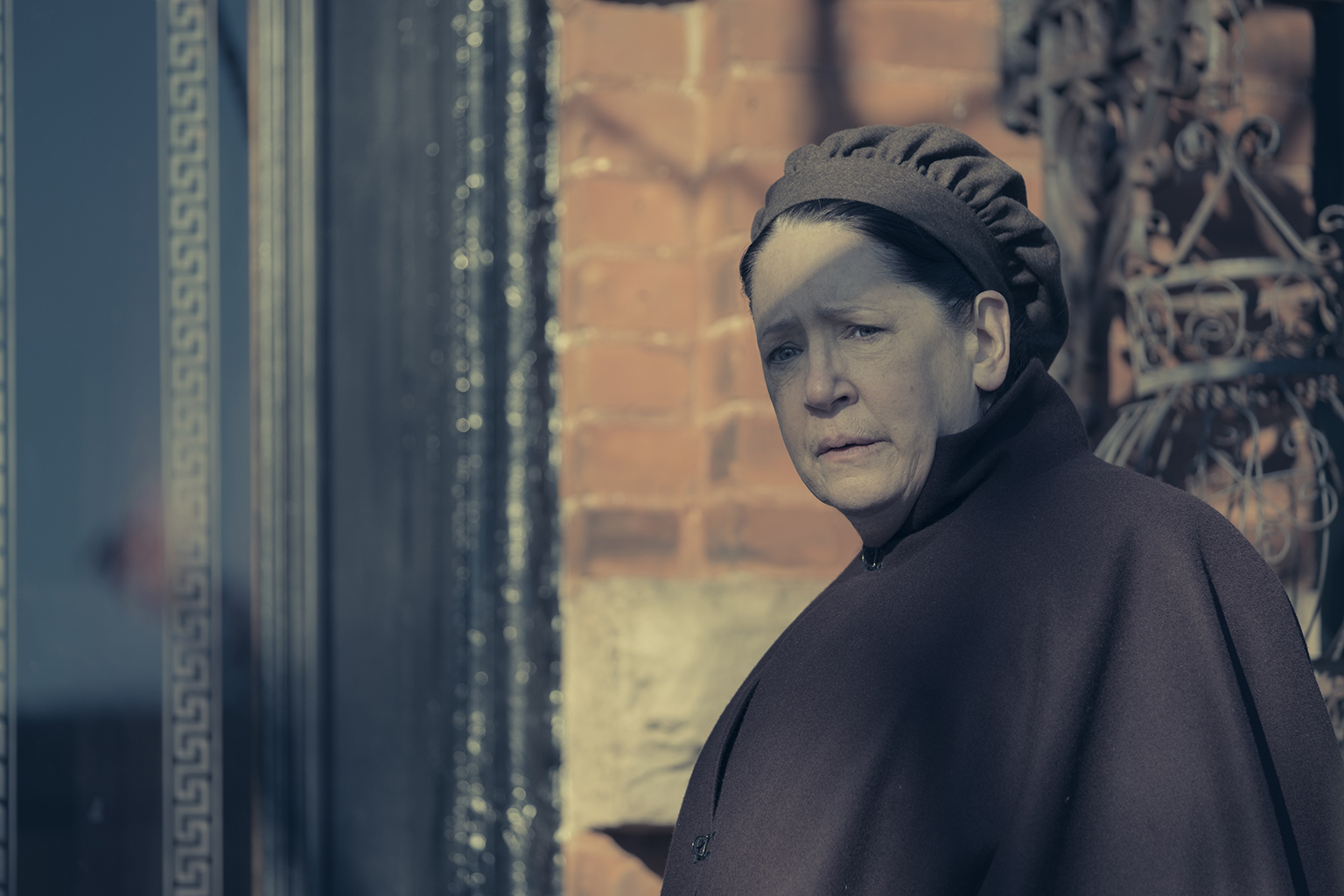 Pictured: Aunt Lydia (Ann Dowd) in Hulu's 'The Handmaid's Tale'