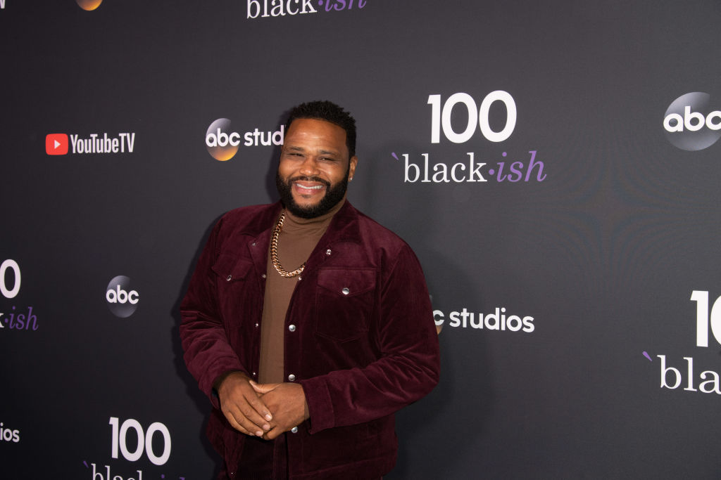 Anthony Anderson attends Black-ish 100th Episode Celebration at Walt Disney Studios on November 10, 2018 in Burbank, California.