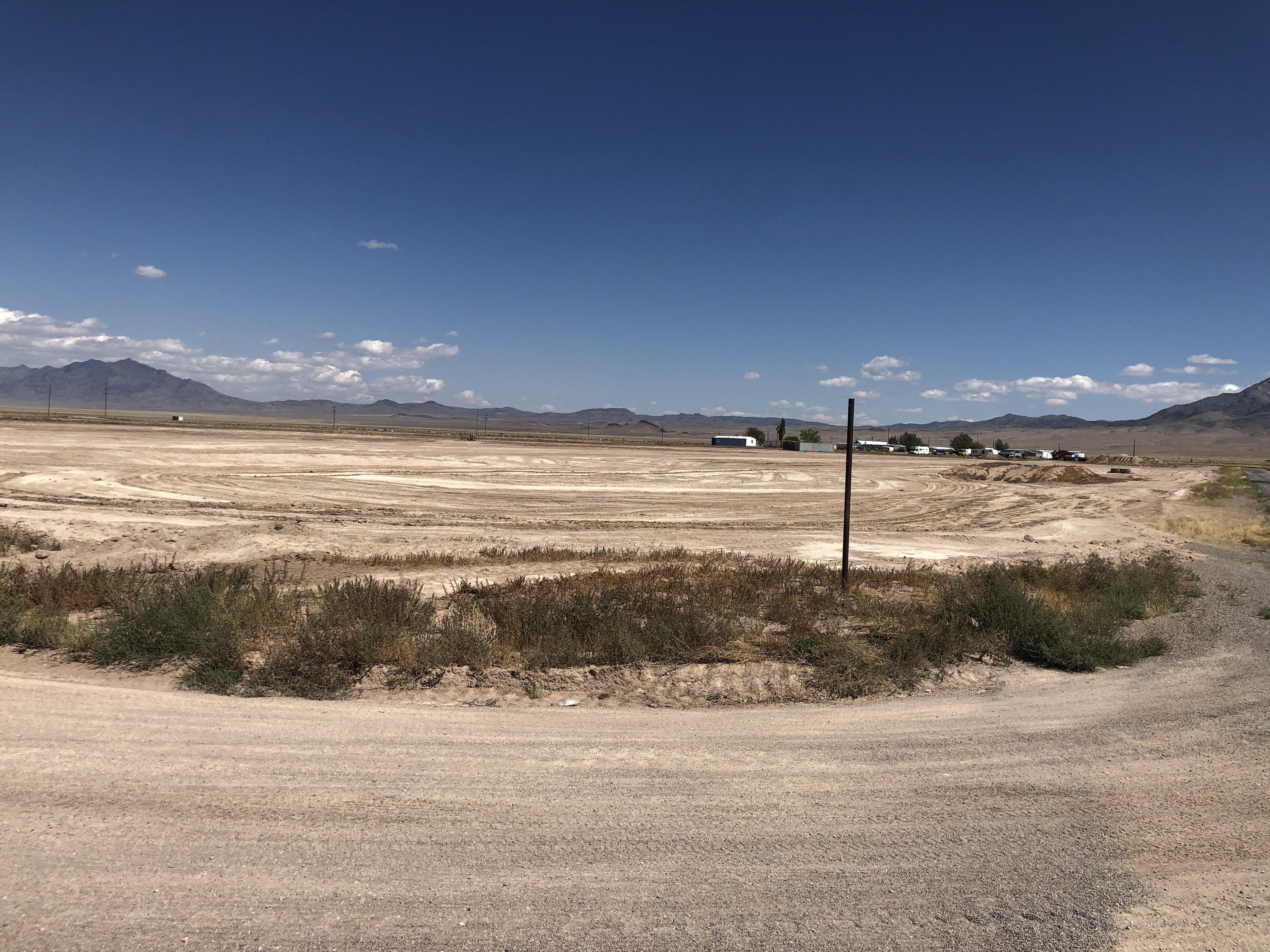 The site of Alienstock in Rachel, Nevada, on Wednesday, Sept. 11.