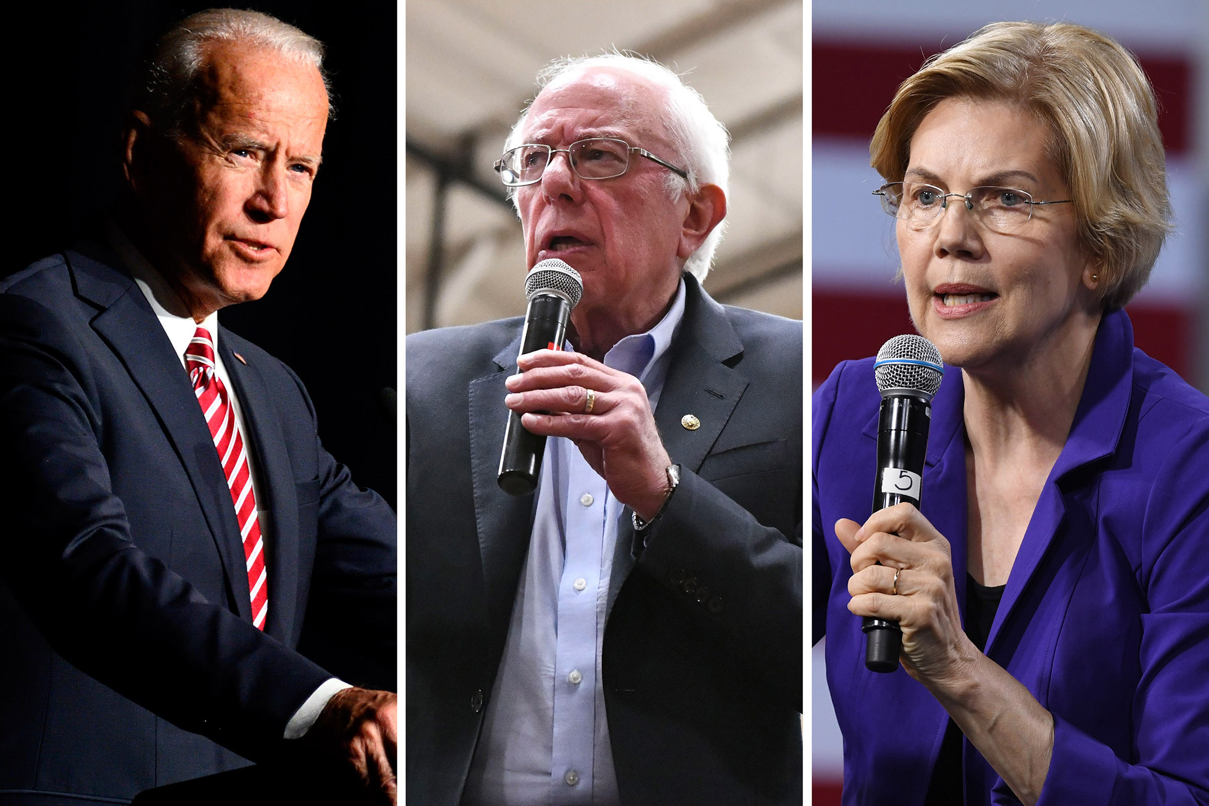 The Democratic Presidential front runners are all in their 70s: Former Vice President Joe Biden,  Sen.  Bernie Sanders (I-VT)  and U.S. Sen. Elizabeth Warren (D-MA)