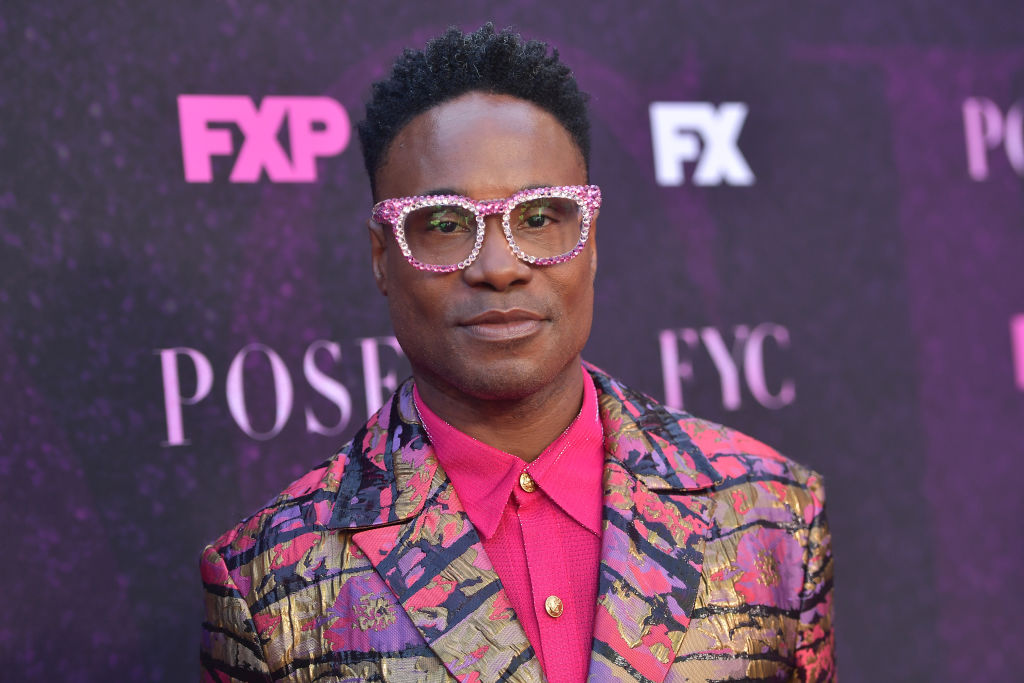 Billy Porter attends the red carpet event for FX's  Pose  at Pacific Design Center on August 9, 2019 in West Hollywood, California.