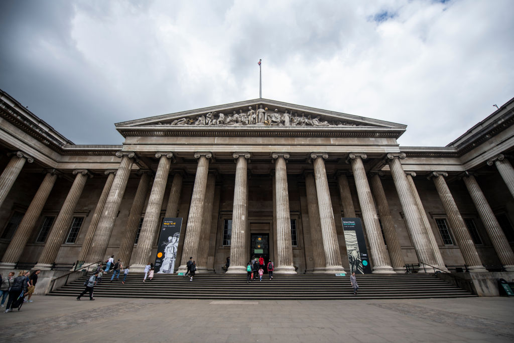 A General view showing the British Museum in London. May 28, 2019.
