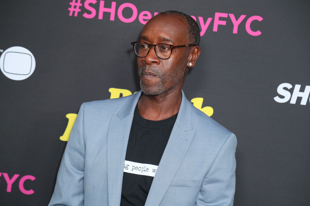 Don Cheadle attends FYC Red Carpet Event For Showtimes'  Black Monday  at Saban Media Center on May 14, 2019 in North Hollywood, California.