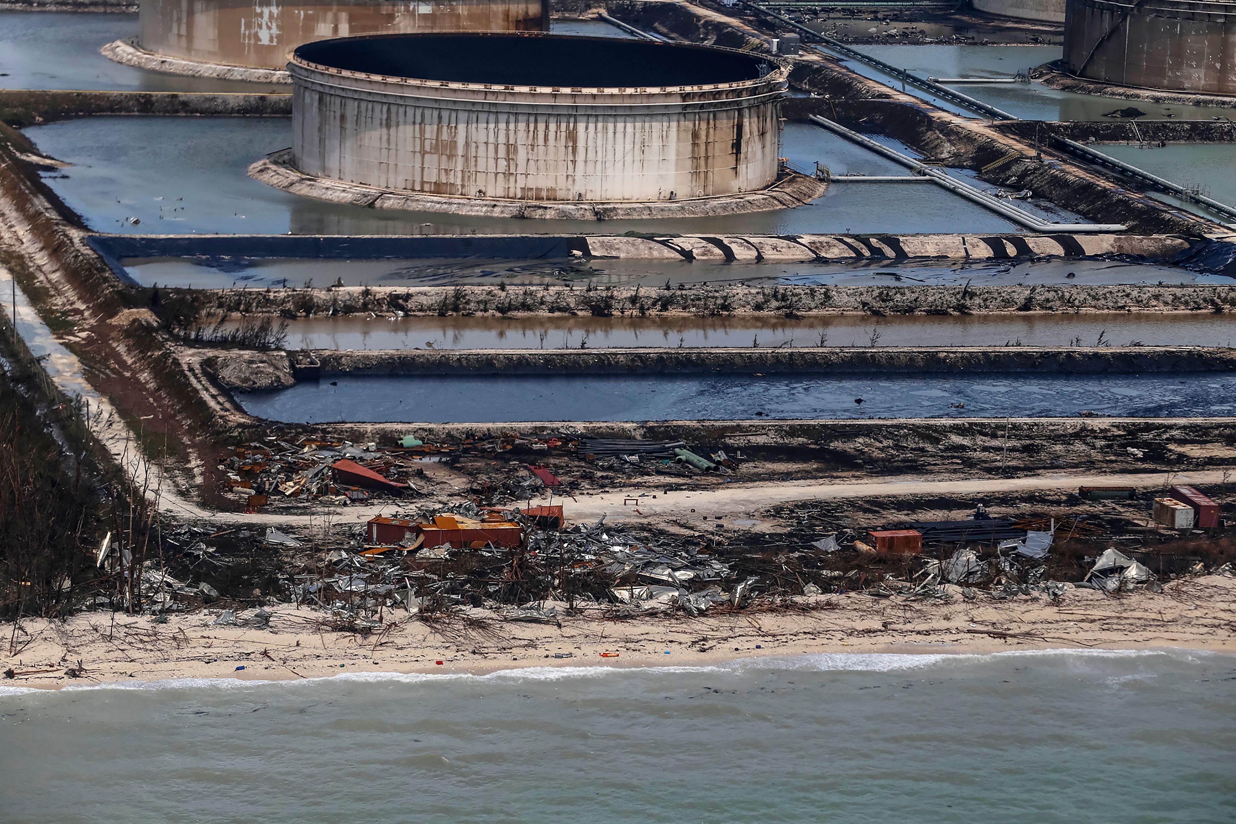 Hurricane Dorian Causes Oil Spill in Bahamas | Time