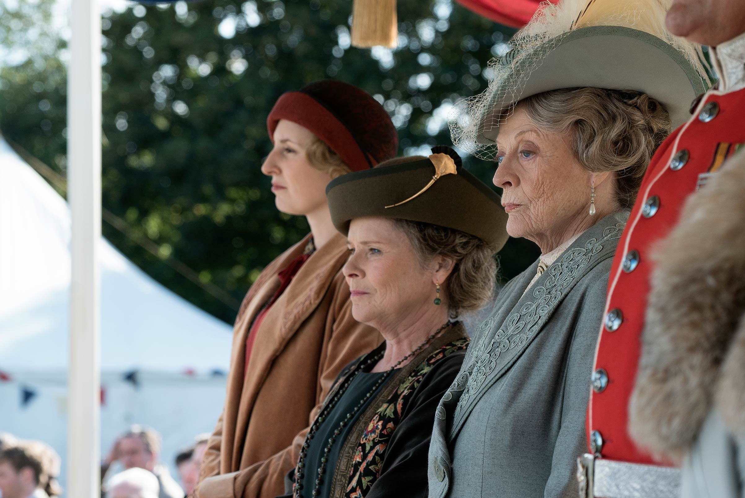 'Downton Abbey' extends its six-season narrative with a feature film set around a royal visit.