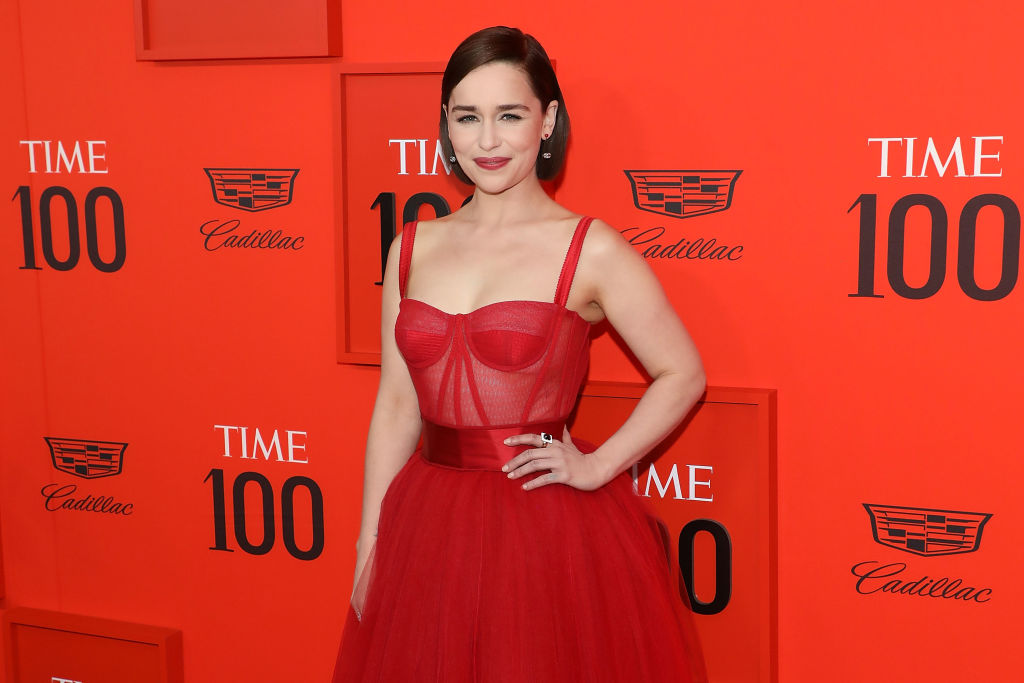 Emilia Clarke attends the 2019 Time 100 Gala at Frederick P. Rose Hall, Jazz at Lincoln Center on April 23, 2019 in New York City.