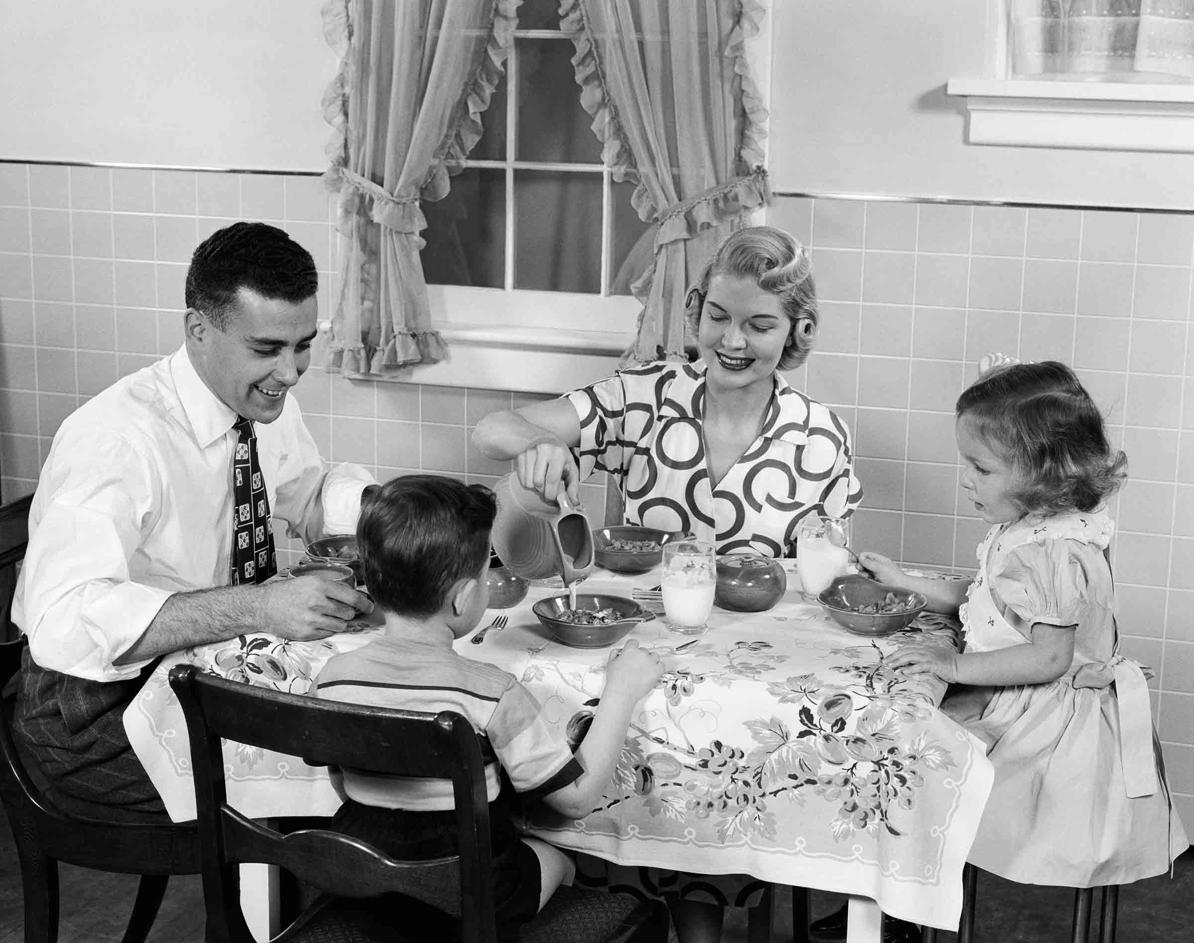 """""""Breakfast is a reminder that any good family meal is not about the food anyway,"""" says therapist Anne Fishel."""