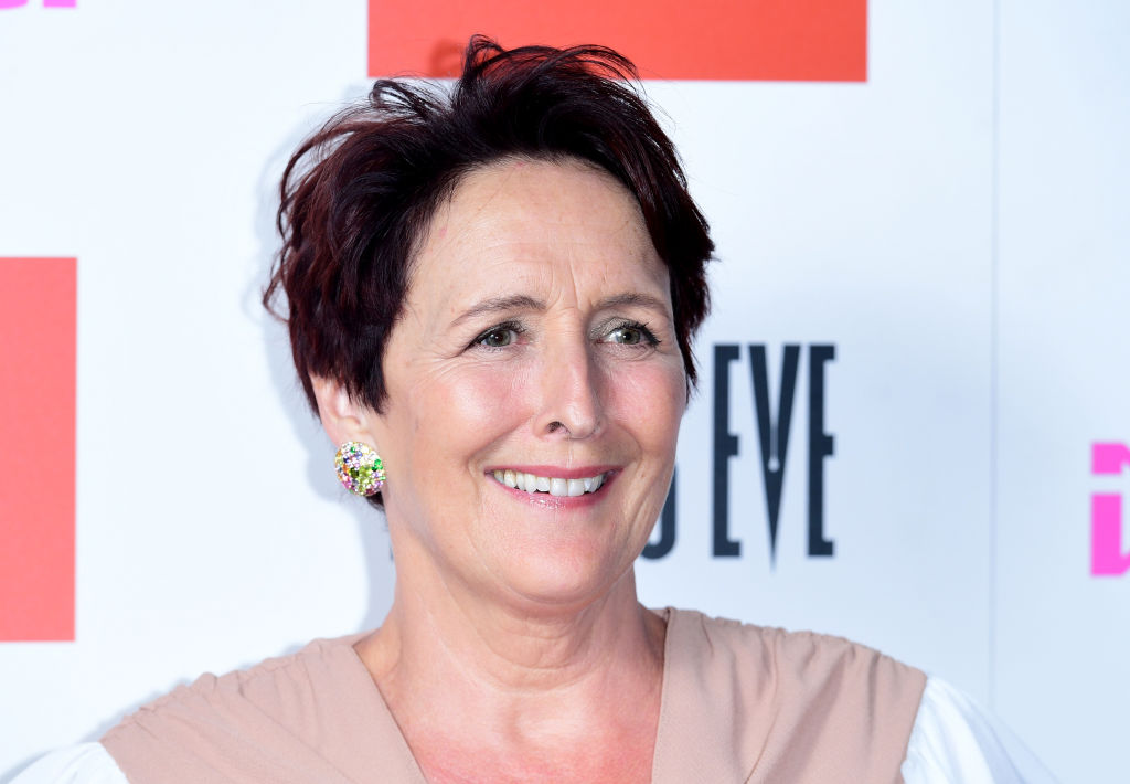 Fiona Shaw attending the Killing Eve Season 2 photocall held at Curzon Soho, London.