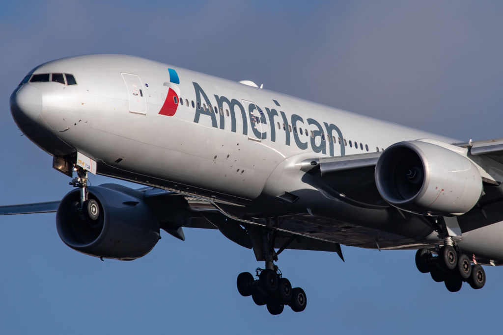 American Airlines Boeing 777-200 aircraft
