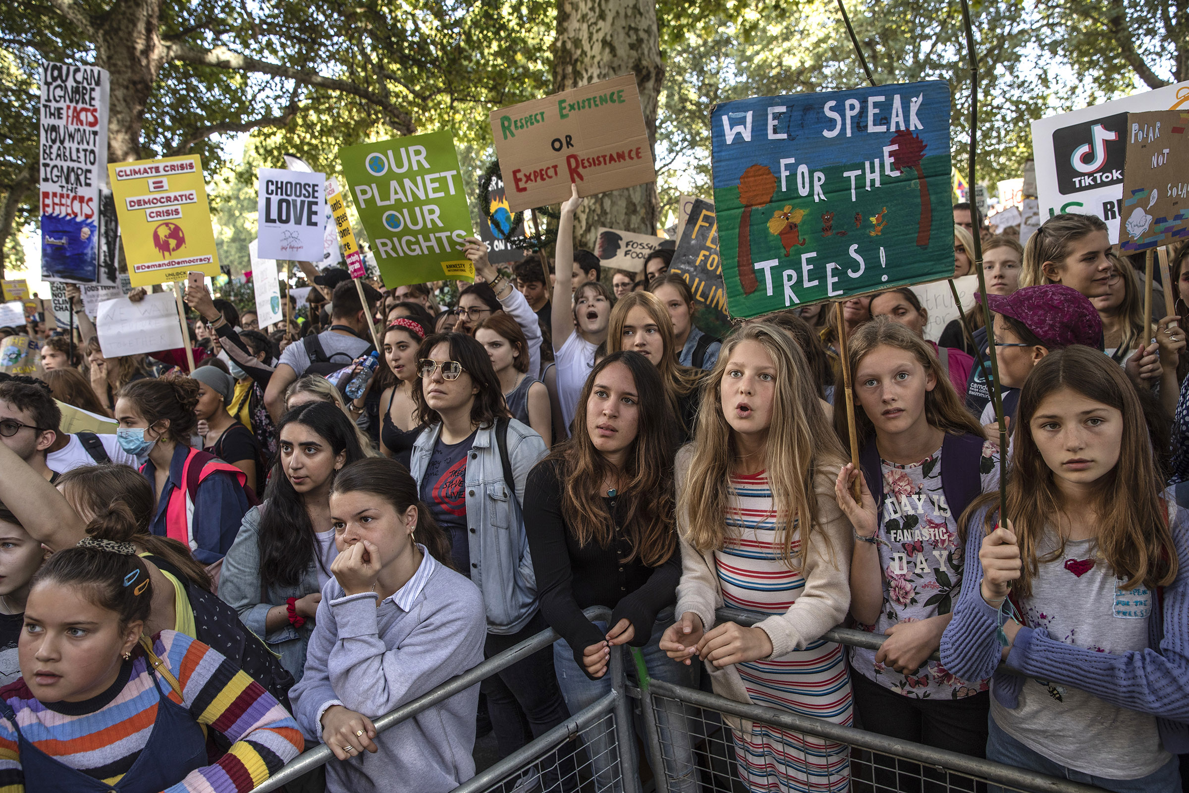 Global Climate Strike: Greta Thunberg, Students Lead Protest   Time