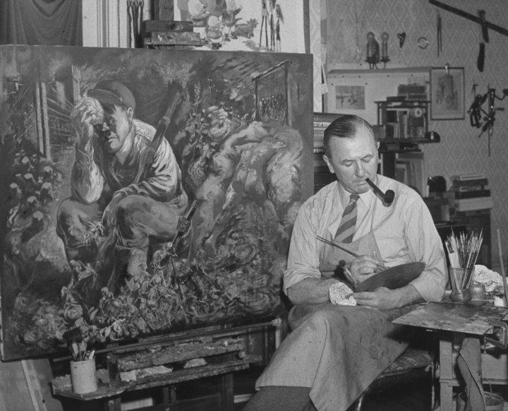 George Grosz; Adolf Hitler