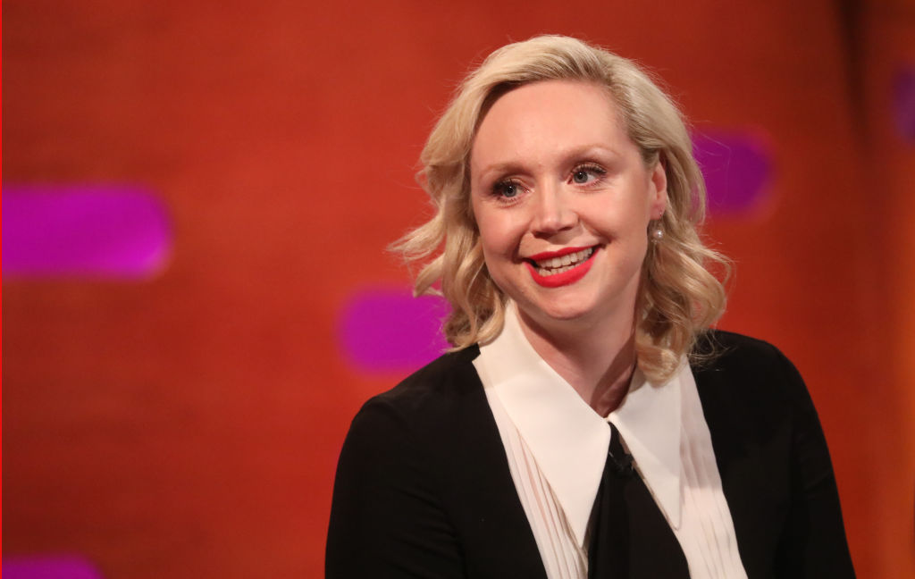 Gwendoline Christie during the filming for the Graham Norton Show at BBC Studioworks 6 Television Centre, Wood Lane, London.