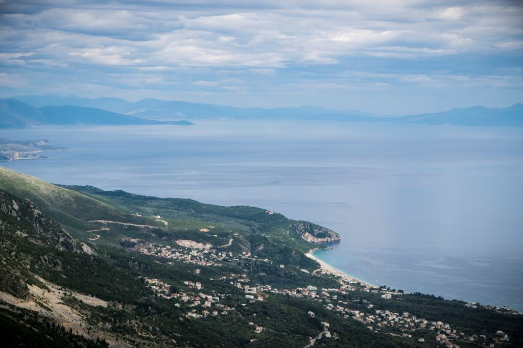 Albania, Adriatic coast between Vlore and Sarande.