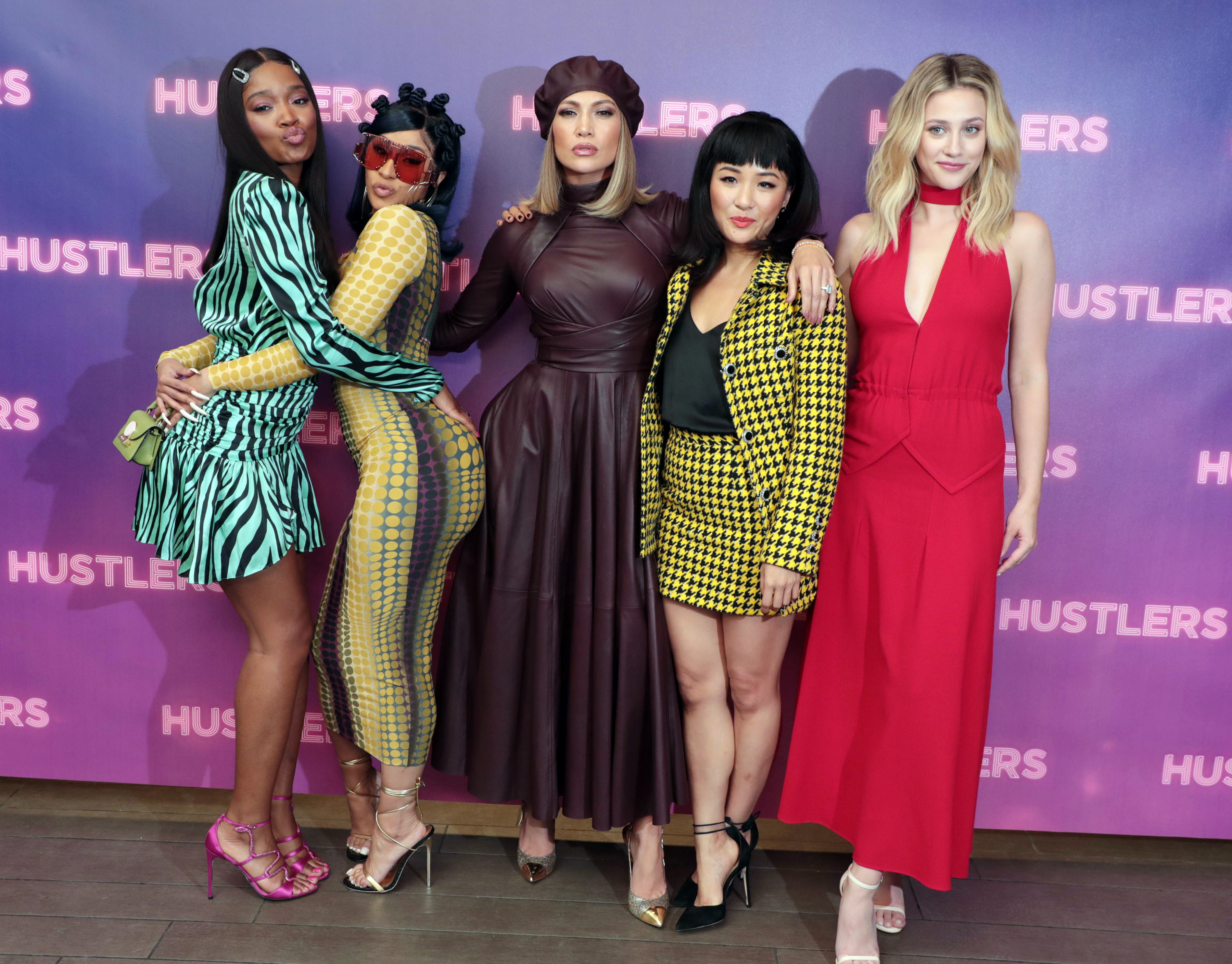 Keke Palmer, Cardi B, Jennifer Lopez, Constance Wu and Lili Reinhart