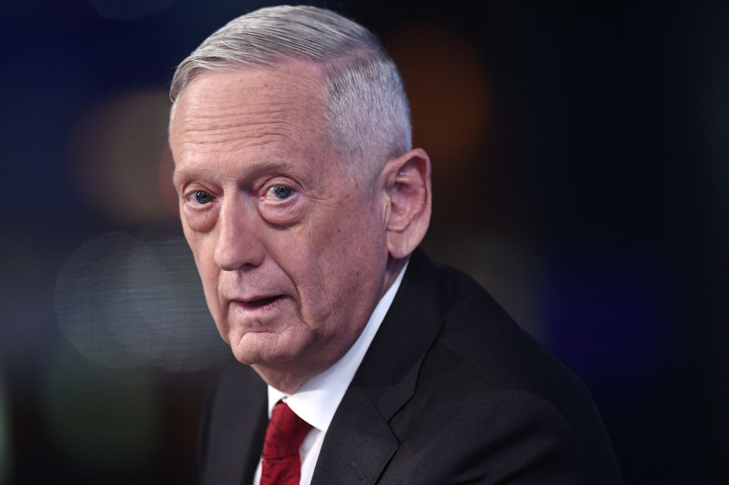 Former U.S. Secretary of Defense James Mattis visits FOX News Channel's  The Story with Martha MacCallum  on September 03, 2019 in New York City.
