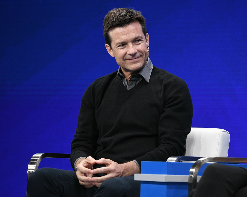 Actor Jason Bateman participates in a panel discussion during the annual Milken Institute Global Conference at The Beverly Hilton Hotel on April 29, 2019 in Beverly Hills, California.