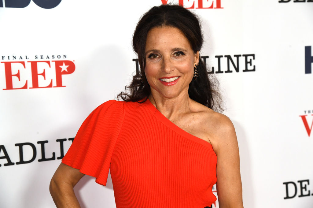 Julia Louis-Dreyfus attends HBO FYC for  VEEP  at the Landmark Theaters on August 20, 2019 in Los Angeles, California.