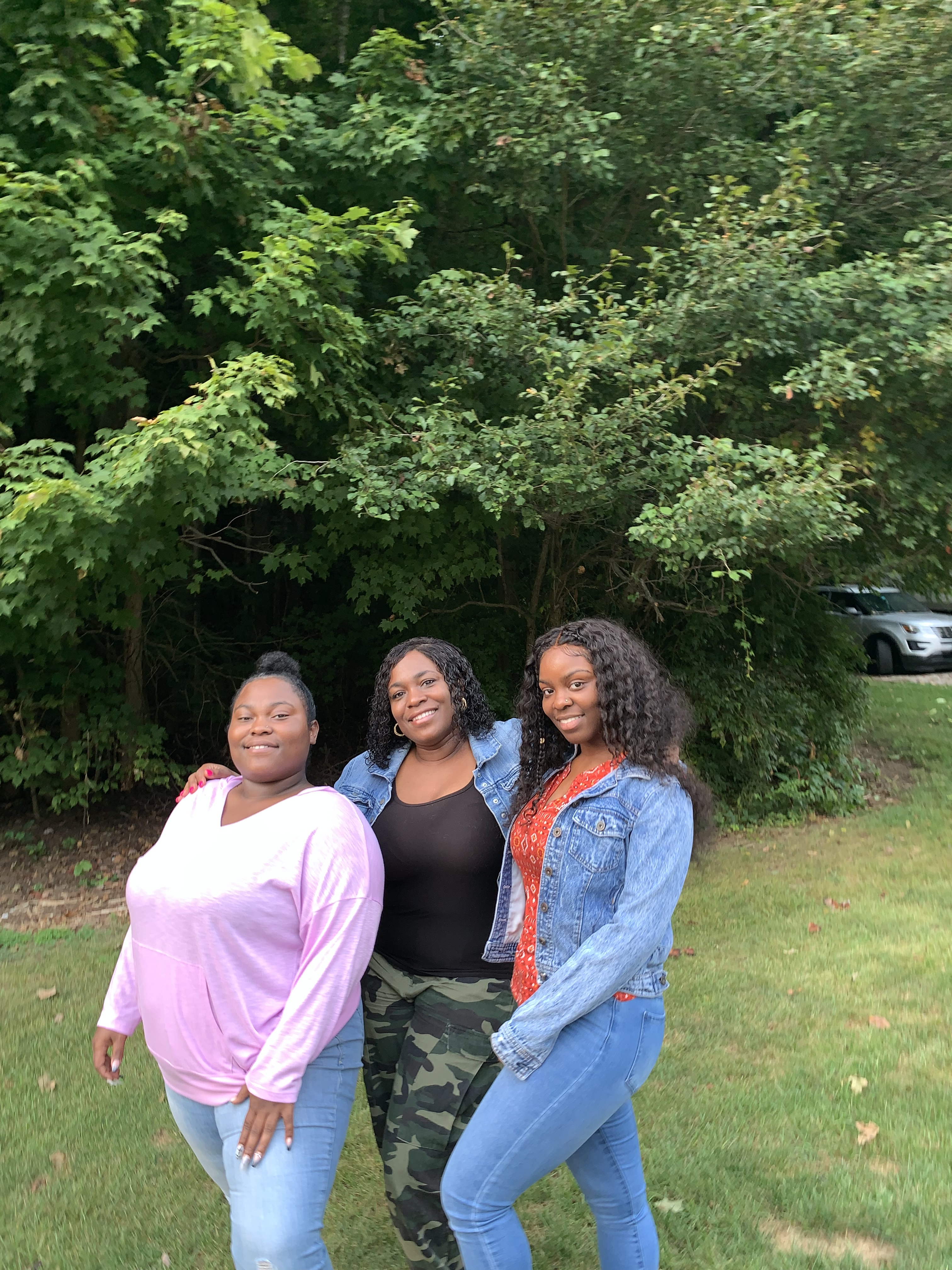 Kelley Williams-Bolar (center), pictured with her daughters Kayla (left) and Jada (right).