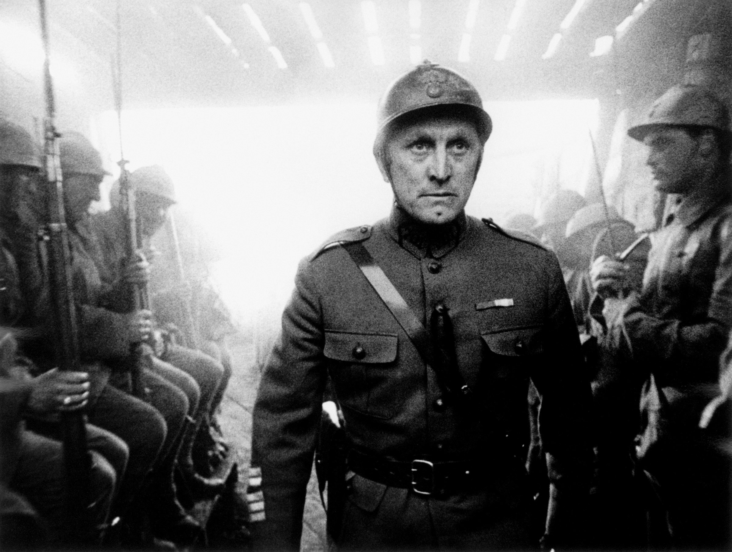 Kirk Douglas in Paths of Glory, 1957.