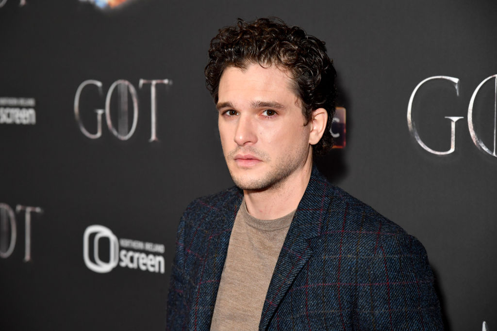 Kit Harington arrives at the Game of Thrones Season Finale Premiere at the Waterfront Hall on April 12, 2019 in Belfast, UK