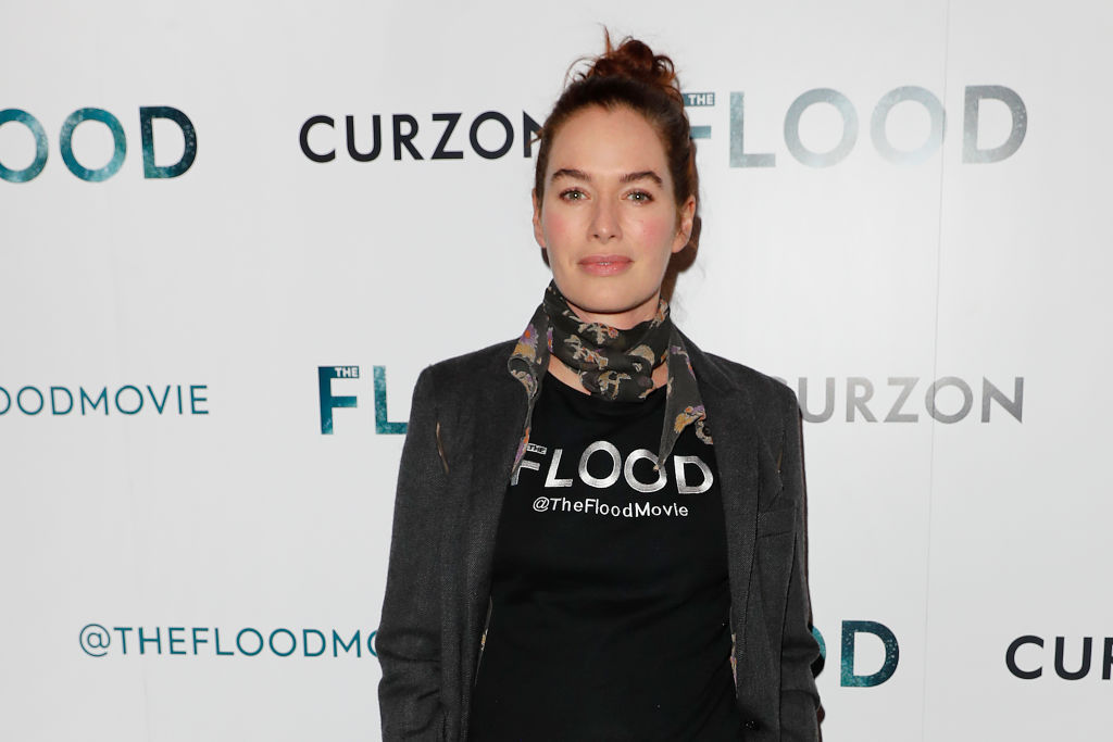 Lena Headey attends a special screening of  The Flood  at The Curzon Mayfair on June 14, 2019 in London, England.