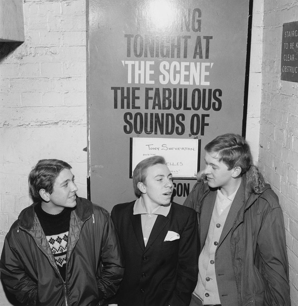 Mods wearing polo shirts at The Scene club in Soho, London, circa 1964.