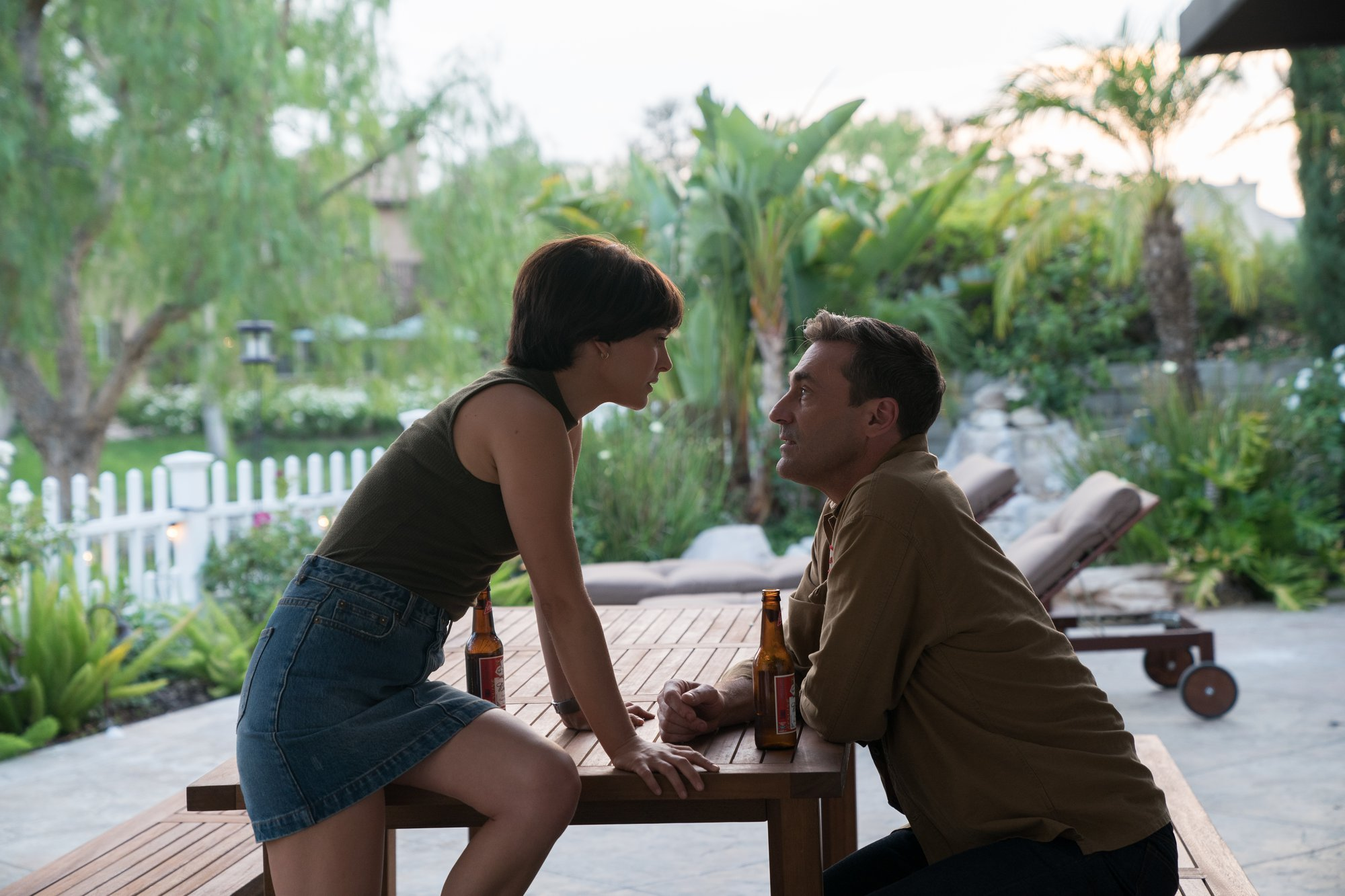 Natalie Portman and Jon Hamm are star-crossed lovers in Lucy in the Sky