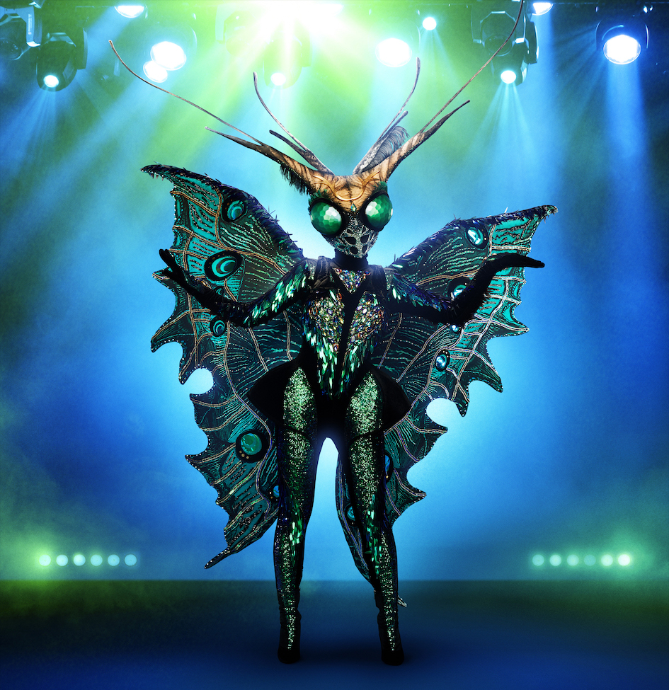 THE MASKED SINGER: The Butterfly.