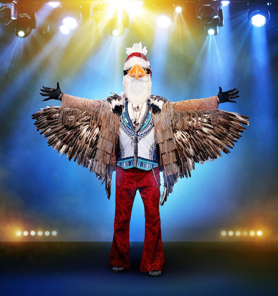 THE MASKED SINGER: The Eagle.