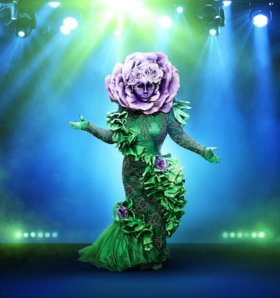 THE MASKED SINGER: The Flower.