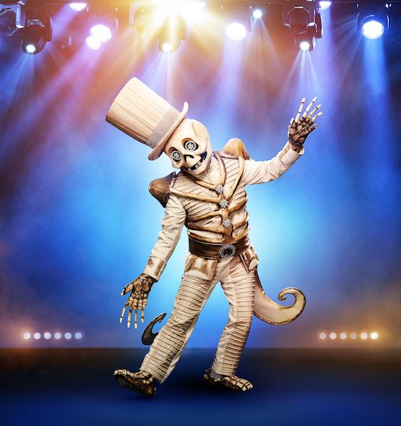 THE MASKED SINGER: The Skeleton.