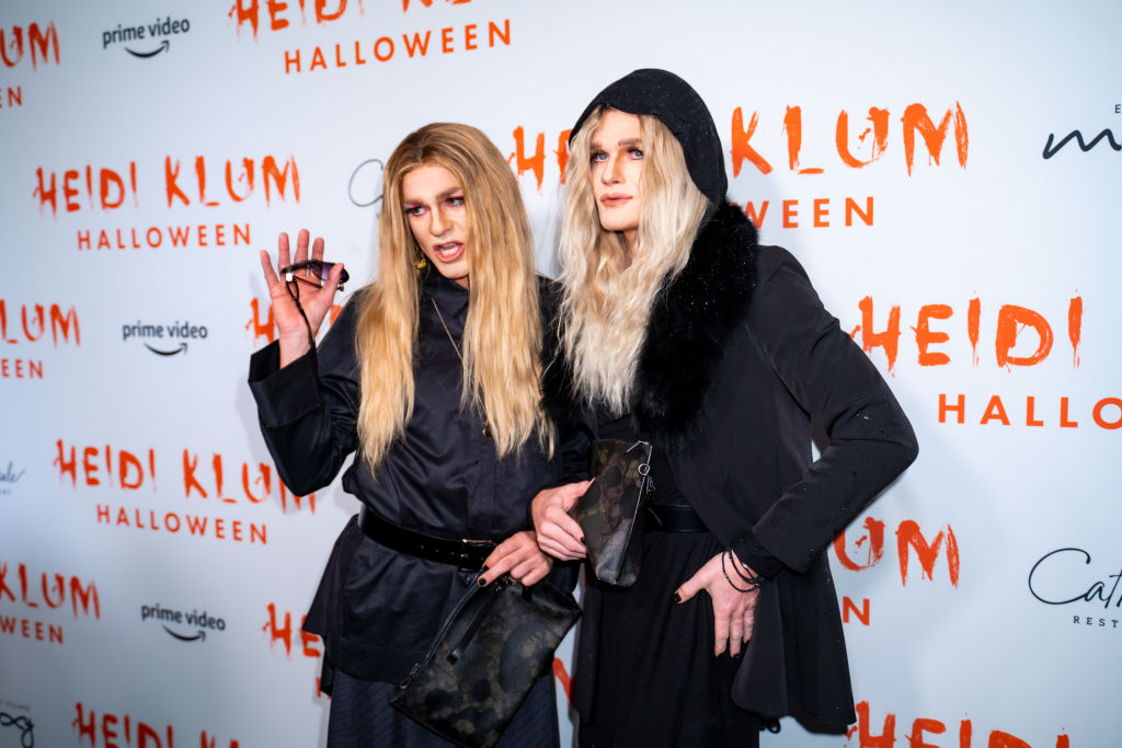 Neil Patrick Harris and David Burtka attend Heidi Klum's 20th Annual Halloween Party at Cathédrale on October 31, 2019 in New York City.