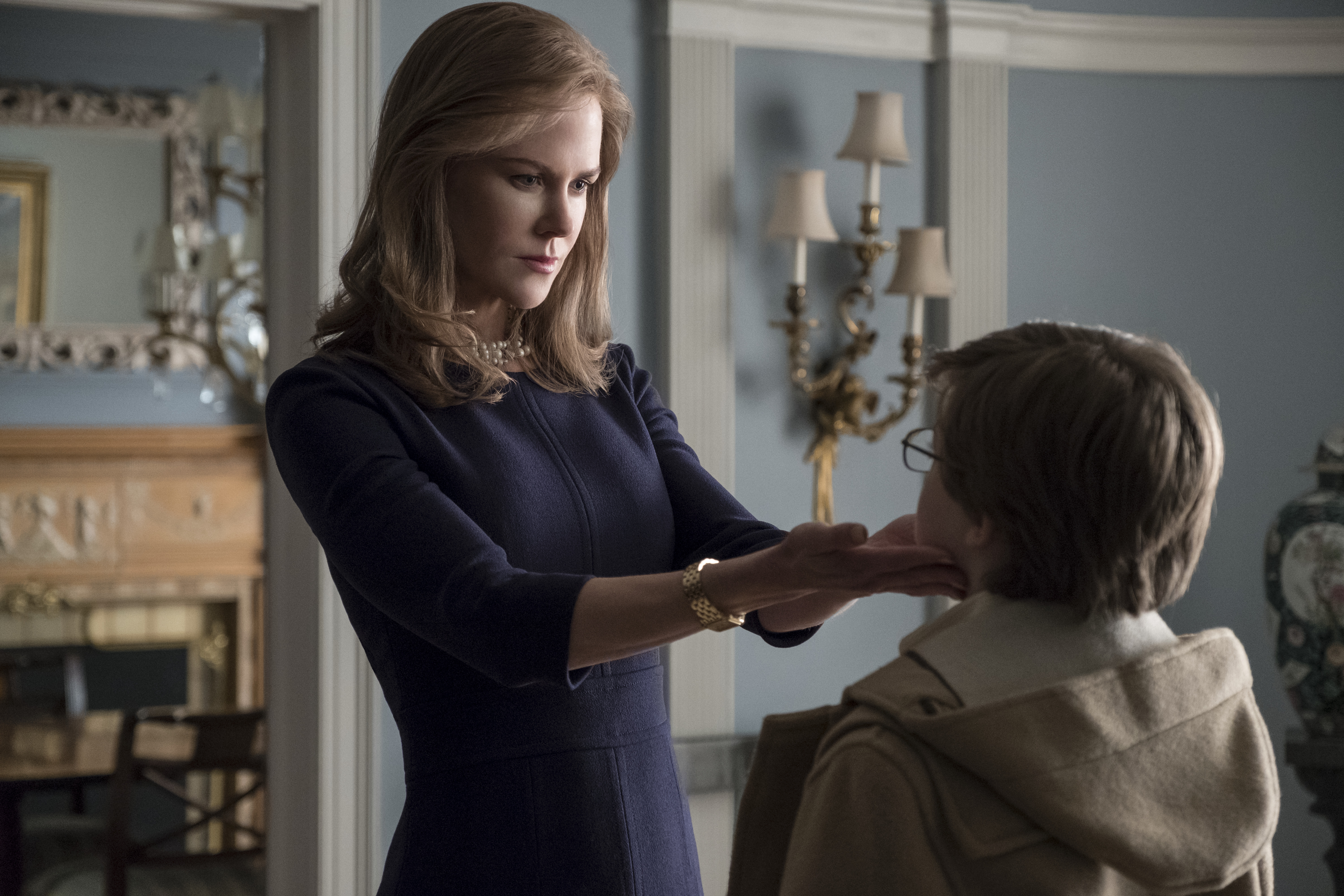 Nicole Kidman and Oakes Fegley in 'The Goldfinch'