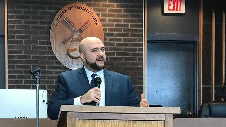 Mohamed Khairullah, mayor of Prospect Park in New Jersey.