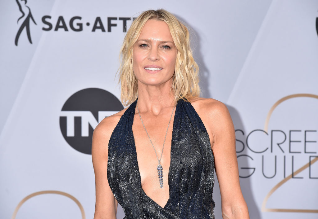 Robin Wright attends the 25th Annual Screen Actors Guild Awards at The Shrine Auditorium on January 27, 2019 in Los Angeles, California.