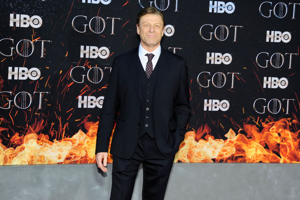 Sean Bean attends  Game Of Thrones  New York Premiere at Radio City Music Hall, NYC on April 3, 2019 in New York City.