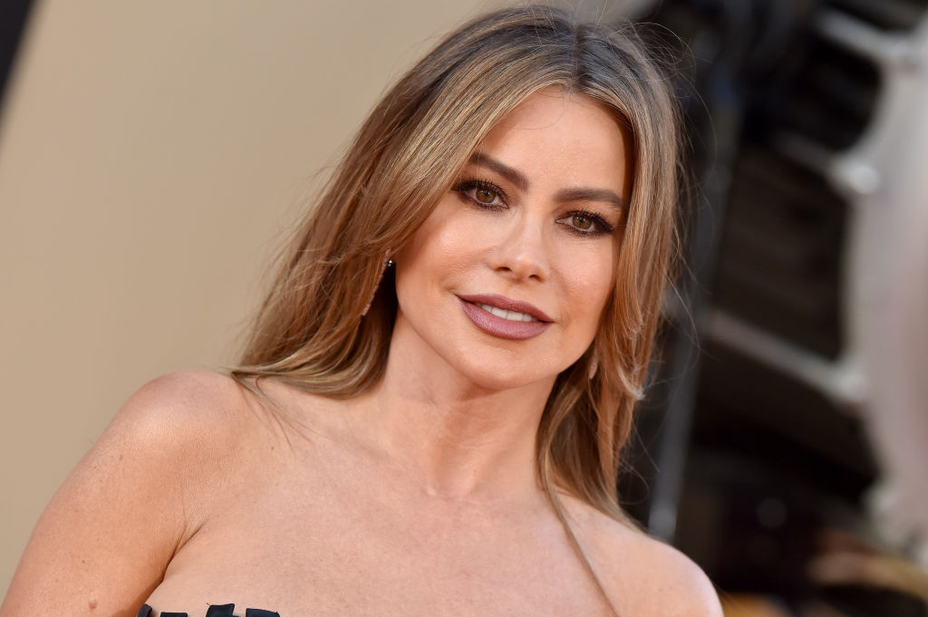Sofia Vergara attends Sony Pictures'  Once Upon a Time ... in Hollywood  Los Angeles Premiere on July 22, 2019 in Hollywood, California.