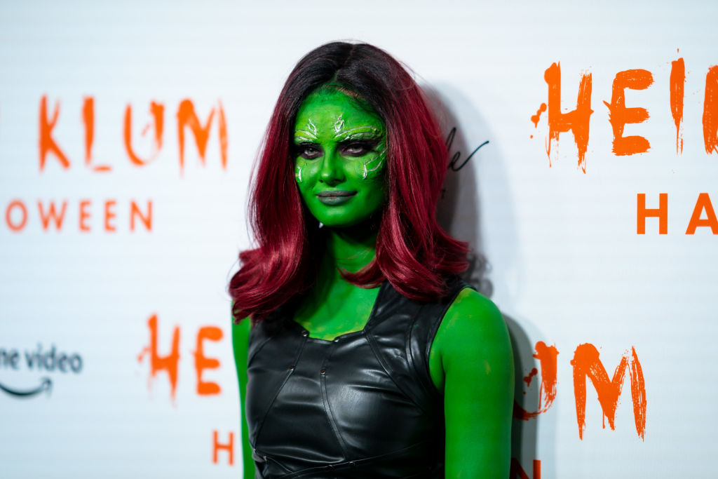 Taylor Hill attends Heidi Klum's 20th Annual Halloween Party at Cathédrale on October 31, 2019 in New York City.