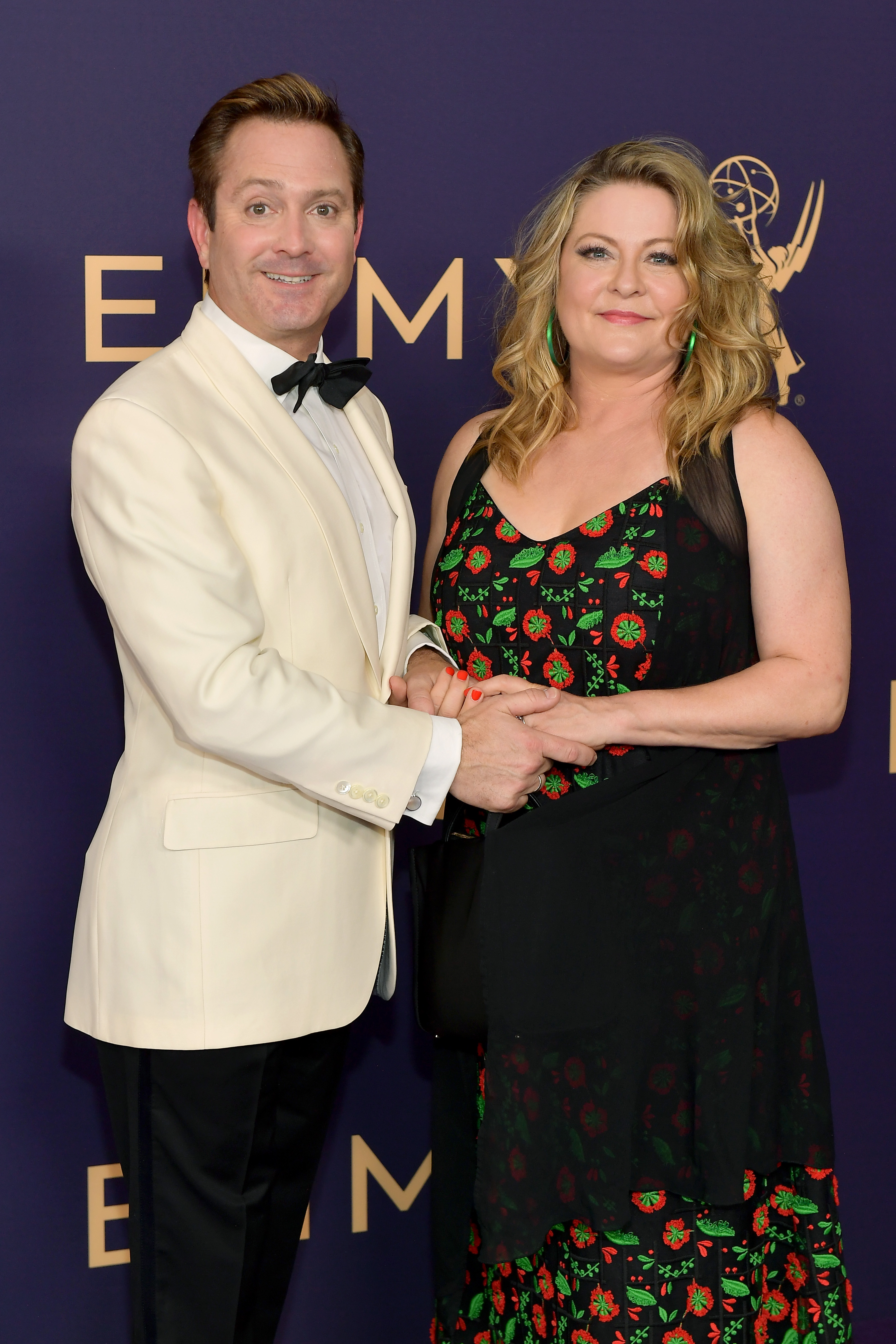 Thomas Lennon and Jenny Robertson attend the 71st Emmy Awardsvin Los Angeles, California.