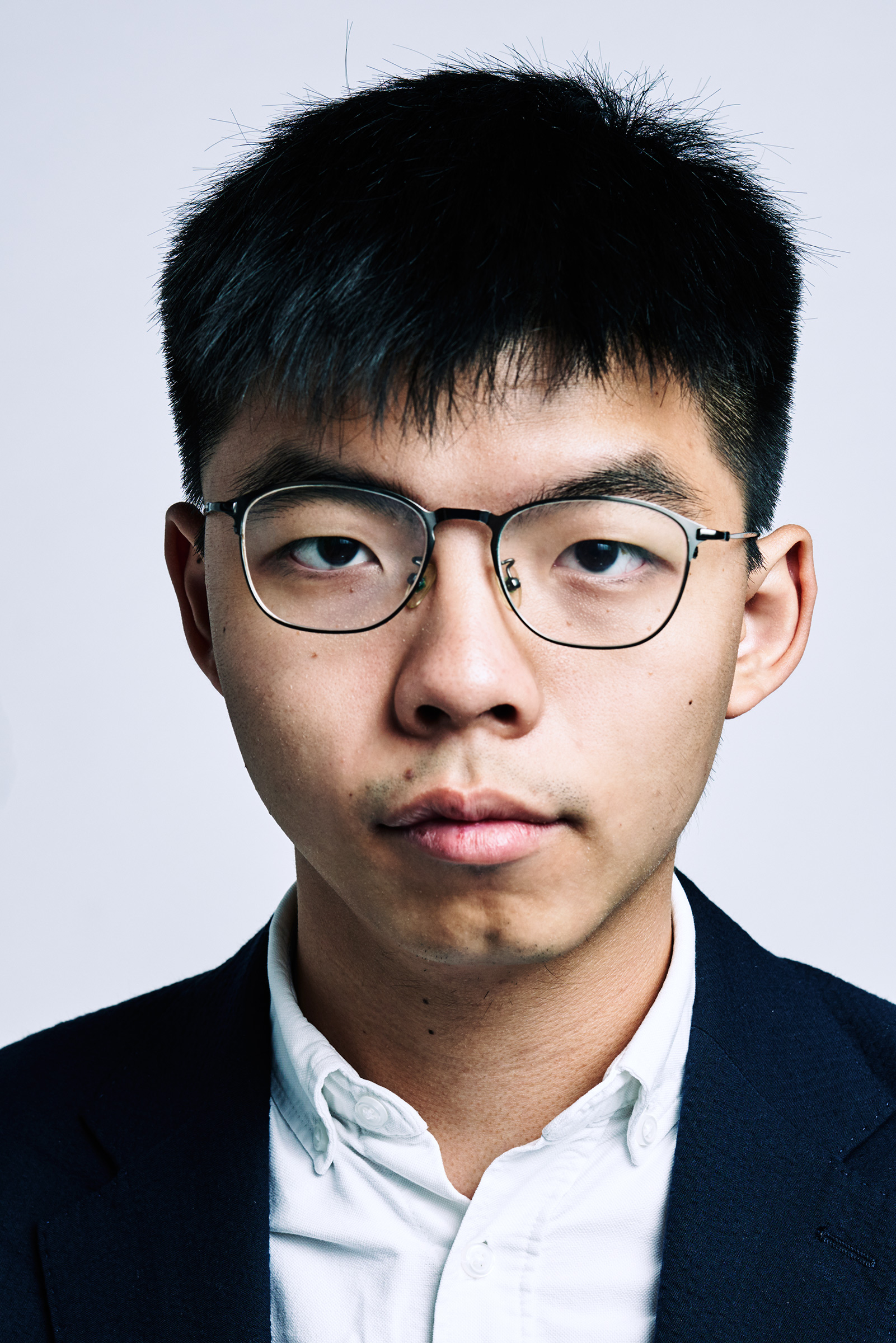 Joshua Wong photographed in New York City, Sept. 16, 2019.
