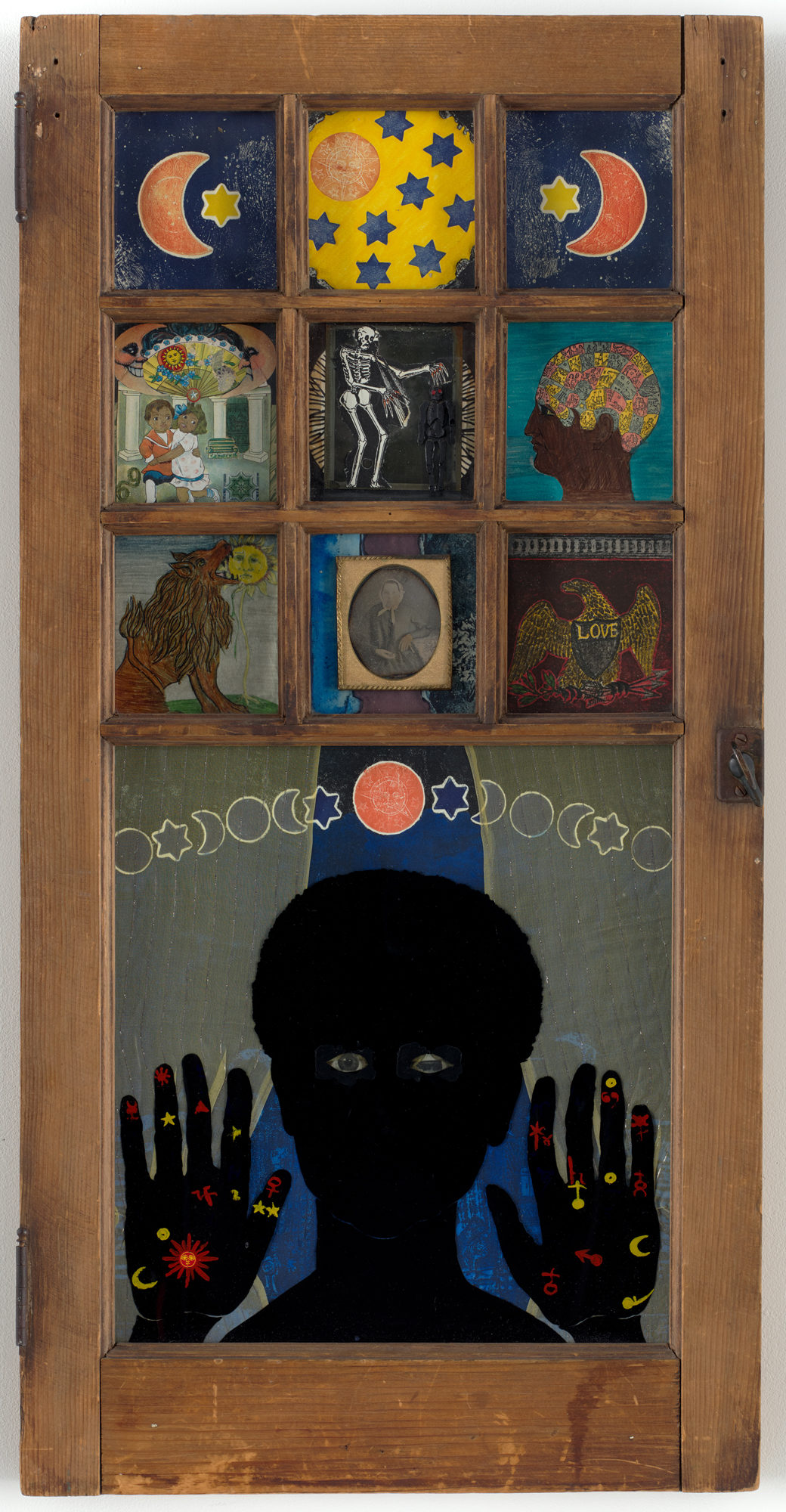 Betye Saar's Black Girl's Window (1969).