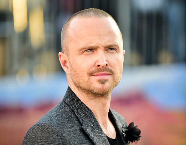 Aaron Paul attends the premiere of Netflix's  El Camino: A Breaking Bad Movie  at Regency Village Theatre in Westwood, California on October 07, 2019.