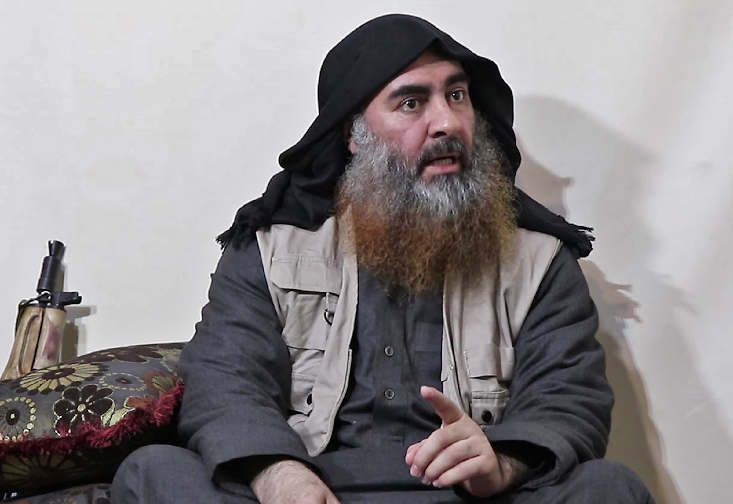 A video released by Al-Furqan media on April 29, 2019, purportedly shows ISIS leader Abu Bakr al-Baghdadi for the first time in five years.