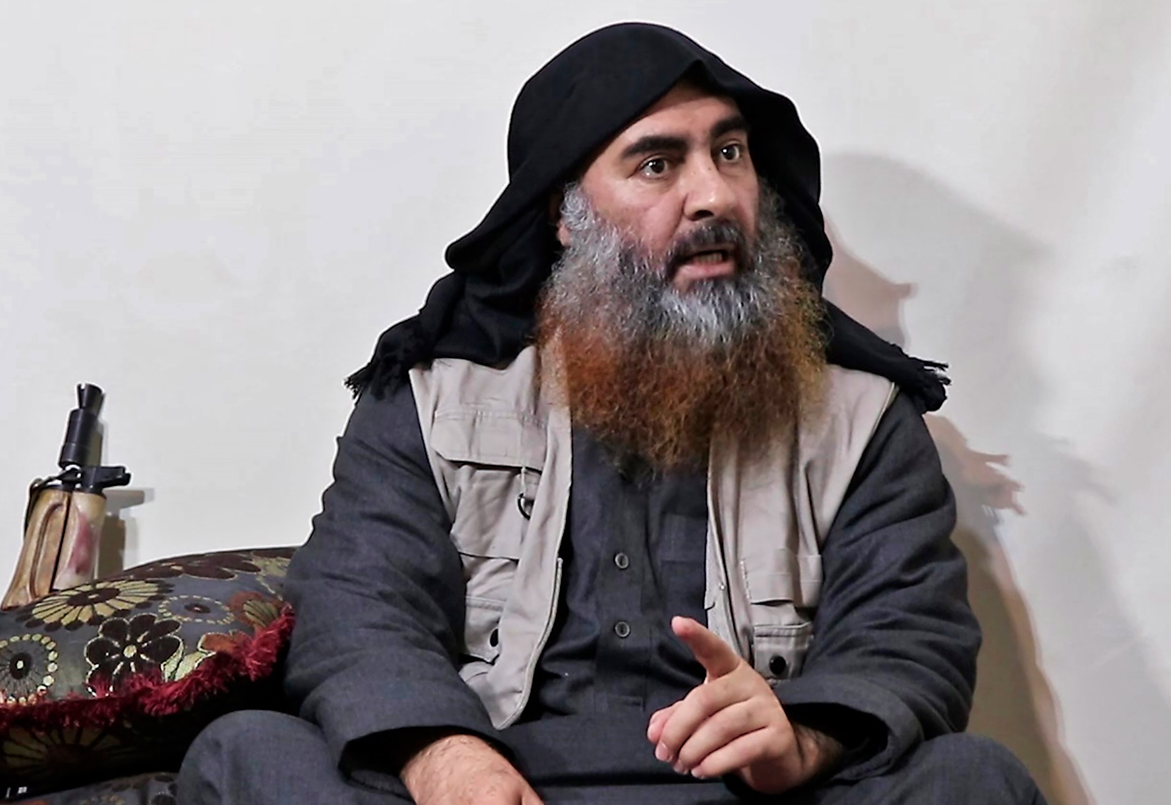 An ISIS video released in April gave the world its first glimpse of al-Baghdadi in five years
