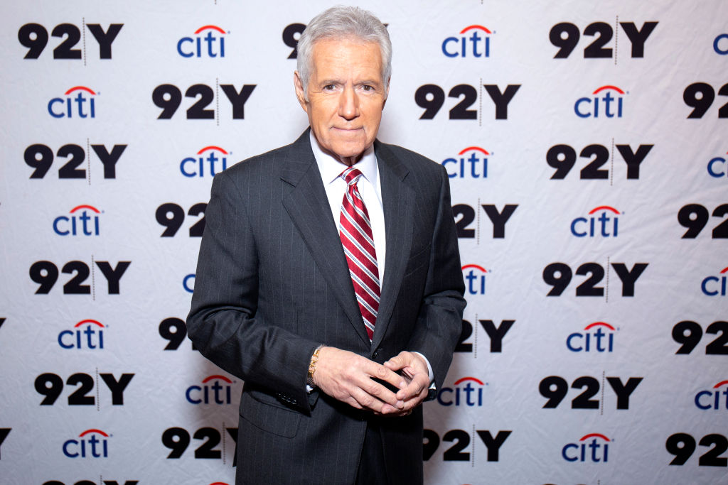 Alex Trebek attends 'Who is Alex Trebek? Celebrating 35 seasons of Jeopardy!' at 92nd Street Y on February 19, 2019 in New York City.